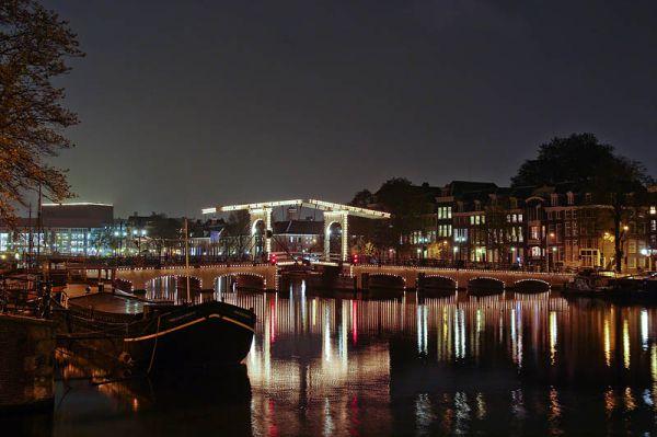 Magere brug, Amsterdam (Noord-Holland)