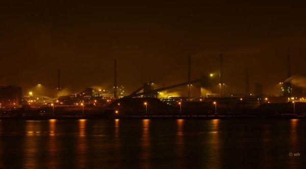 Steel-factory Corus, IJmuiden (Noord-Holland)