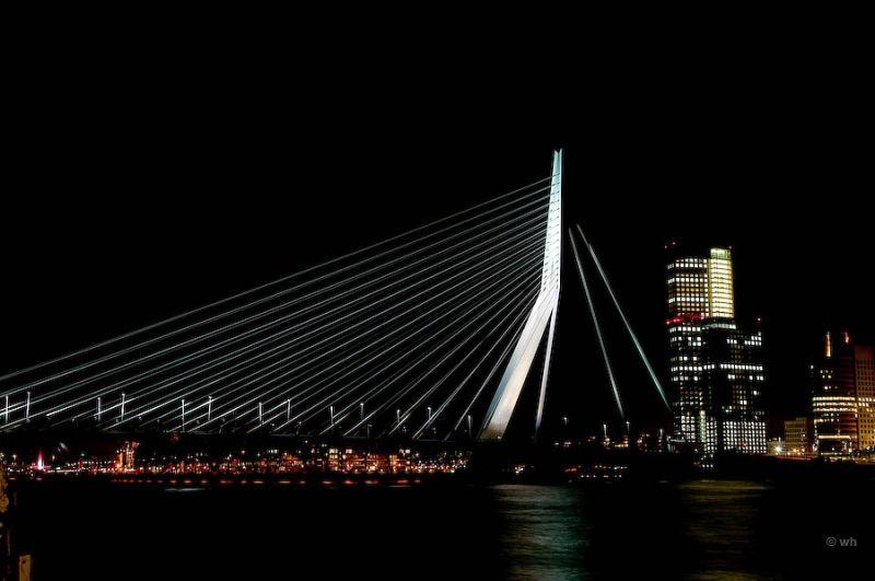 De Erasmusbrug, Rotterdam (Zuid-Holland)