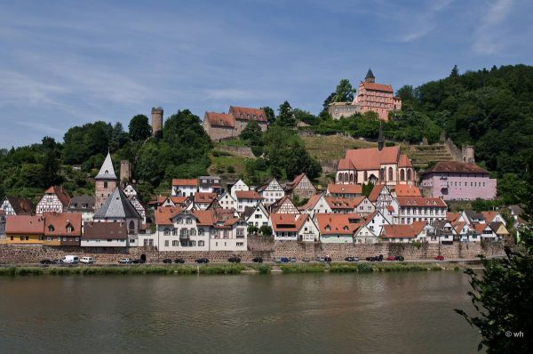 Hirschhorn a/d Neckar (Hessen)  Duitsland