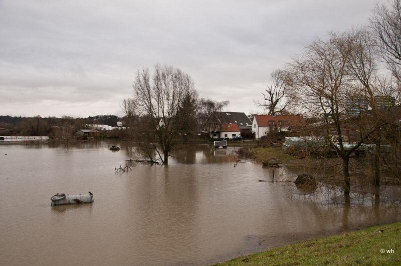 Hoogwater....Arnhem (Gelderland) 3/3