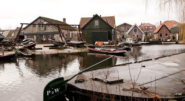 Scheepswerf,  Broek op Langedijk  (Noord-Holland)