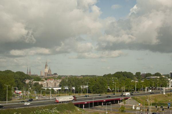 Rijksweg A13, Delft  (Zuid-Holland)