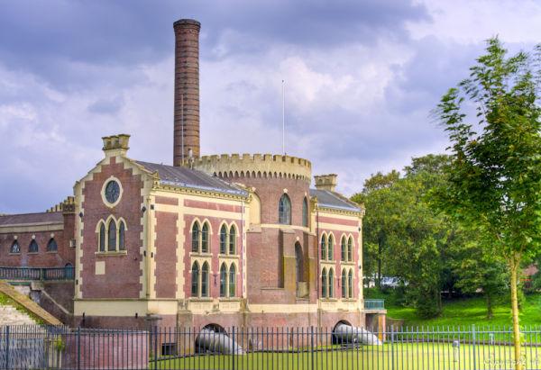 Gemaal De Lynden, Lijnden  (Noord-Holland)  HDR