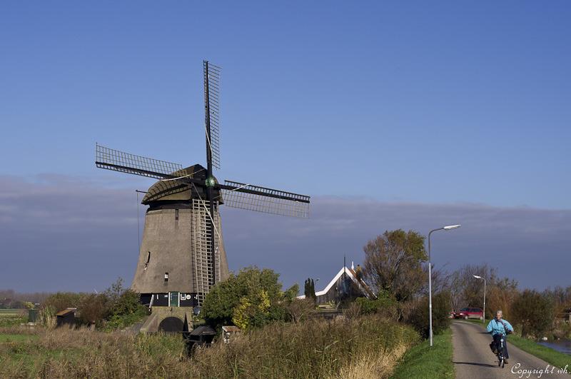 Poldermolen K,  Zuidschermer  (Noord-Holland)