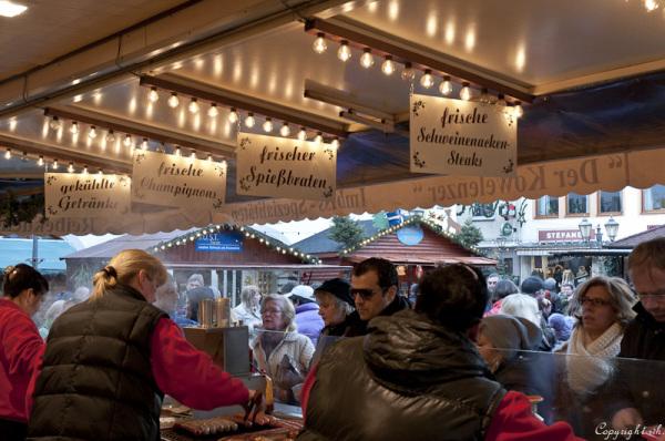Weihnachtsmarkt, Koblenz 2011 (Duitsland)