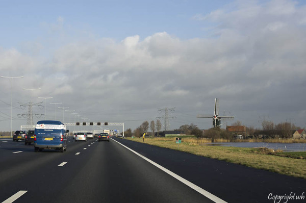 Rijksweg A2, nabij Breukelen  (Utrecht)