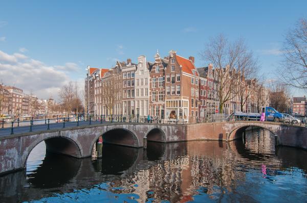 Amsterdam, keizersgracht/Leidsegracht  (N-Holland)