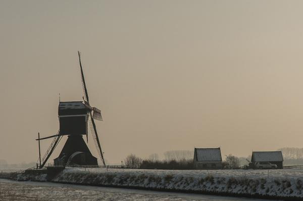 Achterste molen,  Hellouw  (Gelderland)