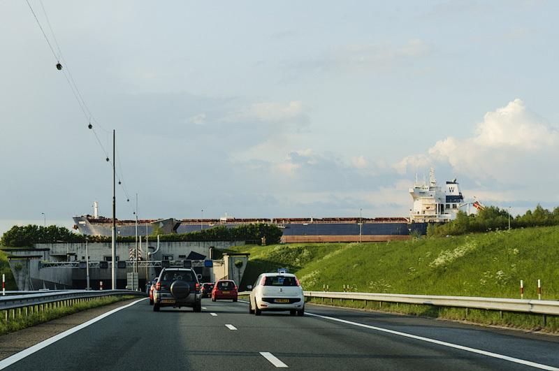 Wijkertunnel, Rijksweg A9  (Noord-Holland)