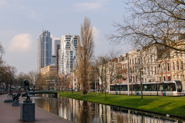 Westersingel - Mauritsweg,  Rotterdam