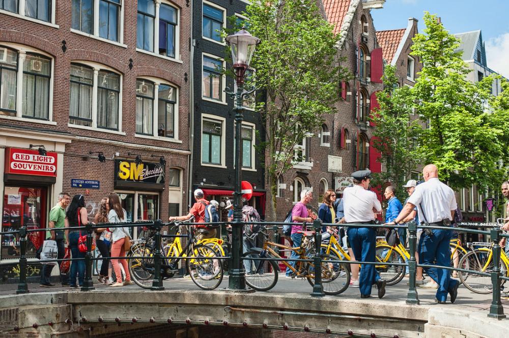 Oudezijds Achterburgwal,  Amsterdam