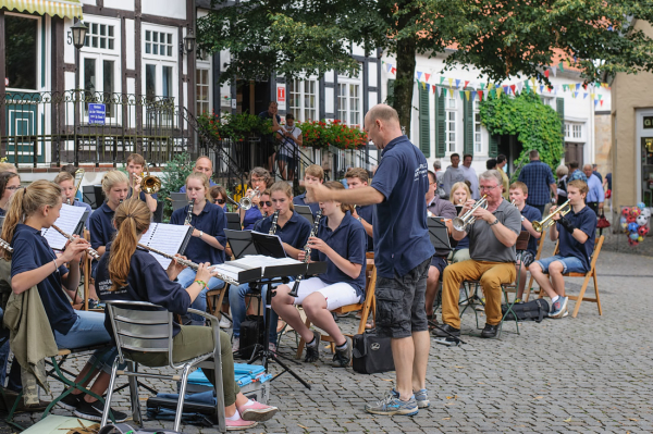 The wind orchestra