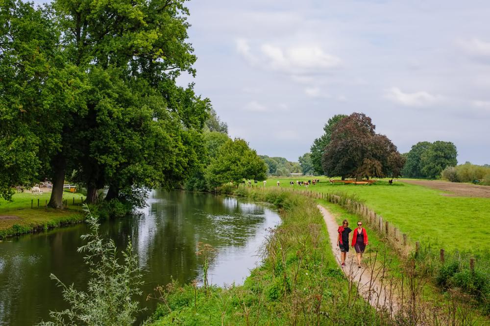 De kromme rijn,  nabij Utrecht