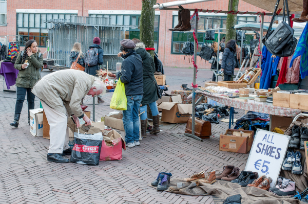 Waterloopleinmarkt,  Amsterdam