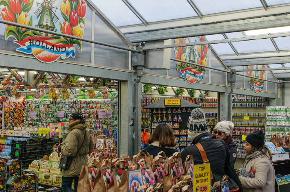 Bloemenmarkt,  singel,   Amsterdam