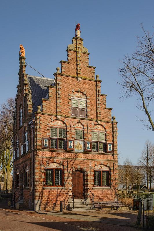 Raadhuis,  Graft Noord