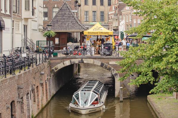 Oudegracht Utrecht 1/2