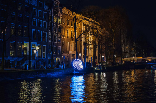 Amsterdam Light Festival 2016 1/4