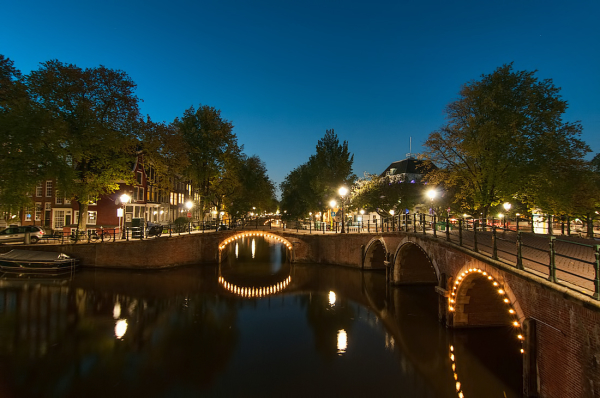 Hoek Prinsengracht / Reguliersgracht,  Amsterdam