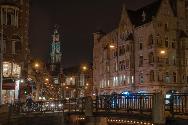 Hoek Raadhuisstraat/Herengracht  Amsterdam