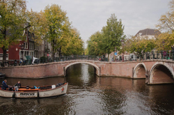 Hoek  Reguliersgracht / Prinsengracht,   Amsterdam