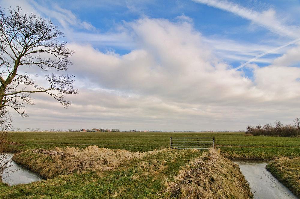Omgeving Hinnaard,  provincie Friesland