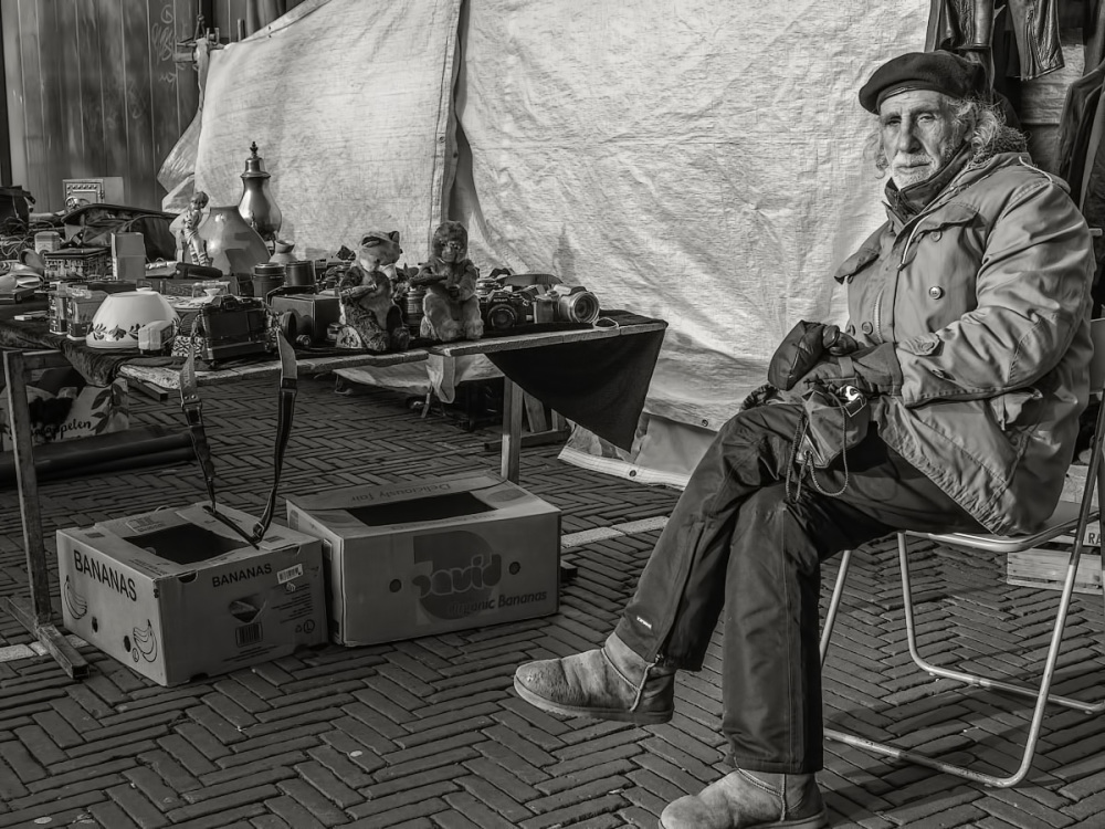The market vendor