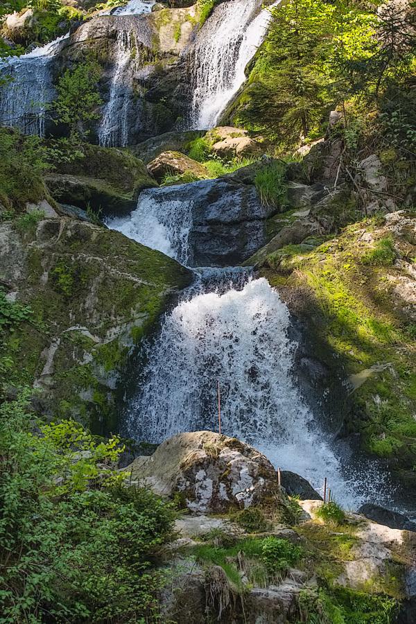 Watervallen van Triberg,  Duitsland