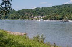 The Rhine near Bad Breisig (Germany)