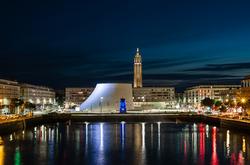 Bassin du Commerce,  Le Havre, France