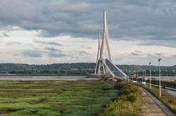 Le pont de Normandie,  France