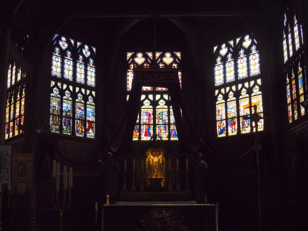 Église Sainte-Catherine,   Honfleur,  France
