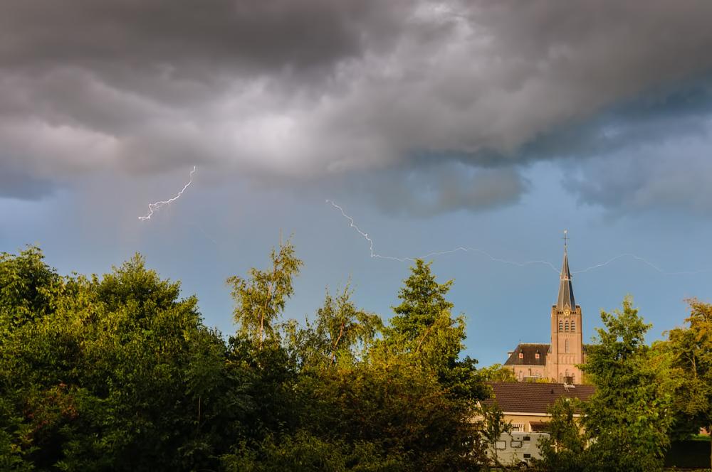 Church  Sint-Joannes de Doper,   Noord-Scharwoude