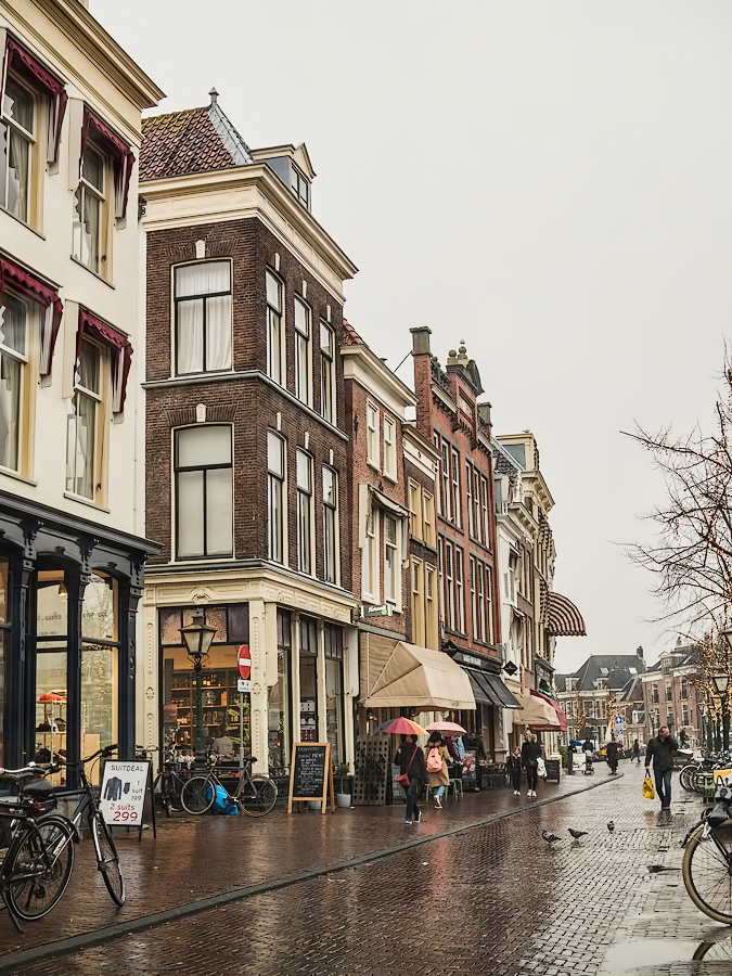 Nieuwe Rijn,  Leiden,  Netherlands