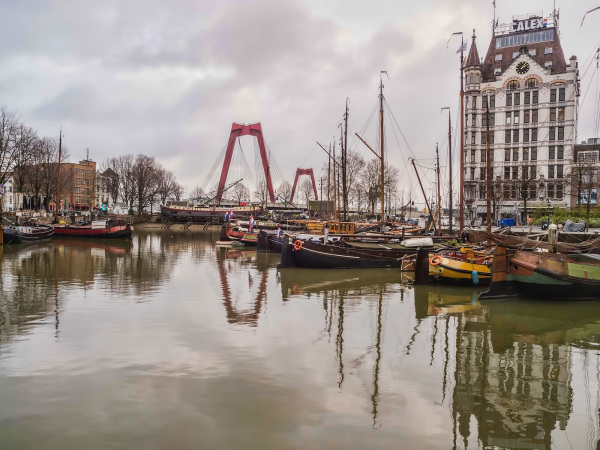 The Netherlands, Rotterdam, Oudehaven