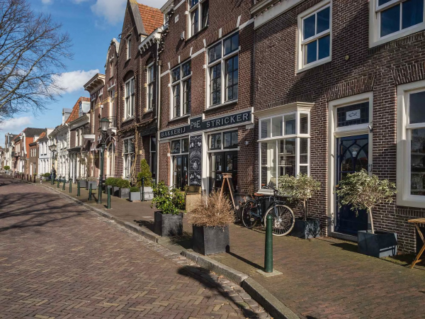 The Netherlands, Muiden, Herengracht.