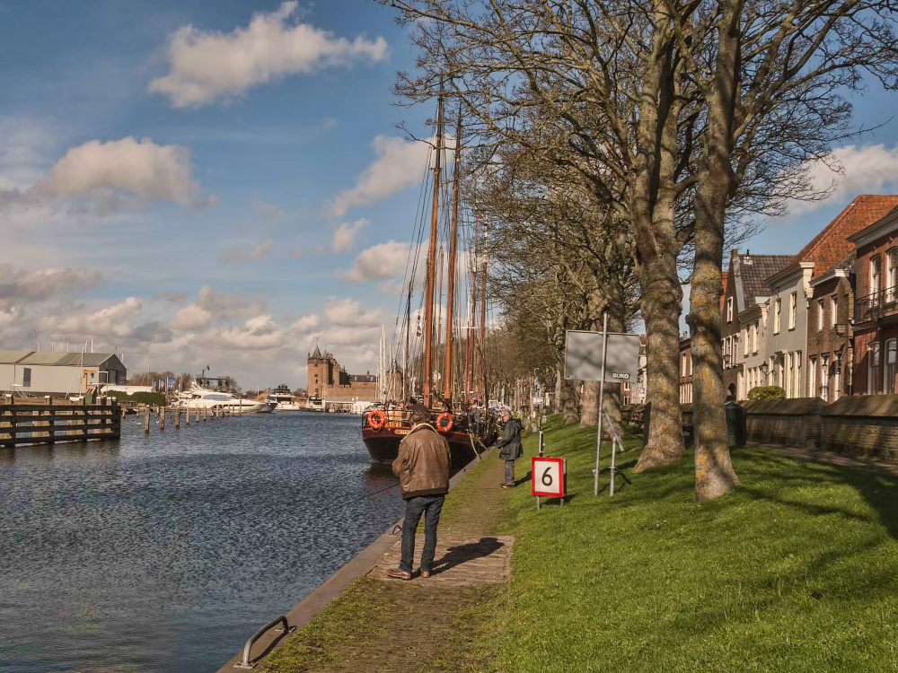 The Netherlands, Muiden, Vecht