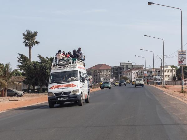Gambia, Banjul-Serrekunda highway