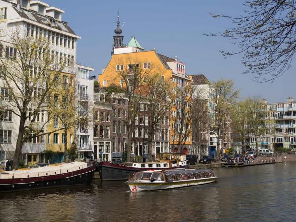 The Netherlands, Amsterdam, Zwanenburgwal