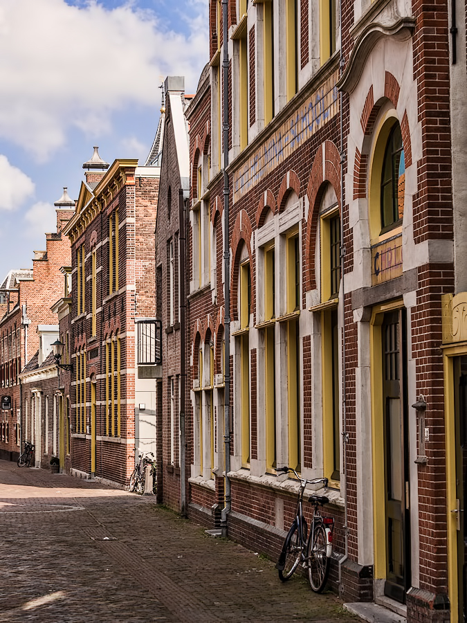 The Netherlands, Alkmaar, Doelenstraat