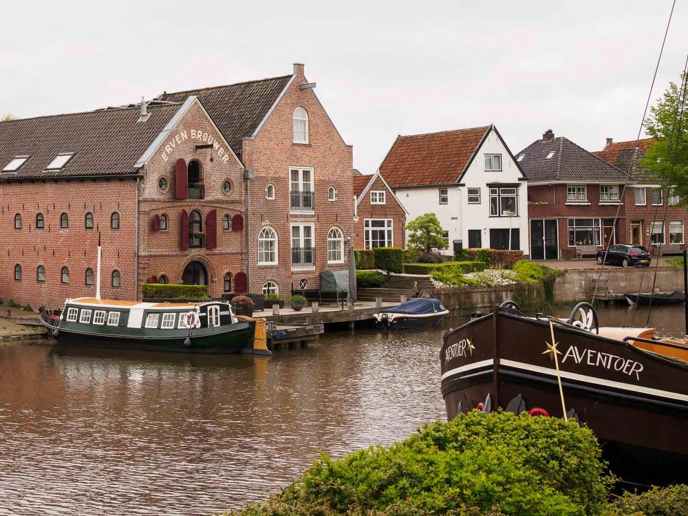 The Netherlands, Dokkum, Het Grootdiep
