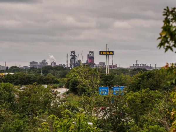 Germany, Duisburg, ThyssenKrupp Steel