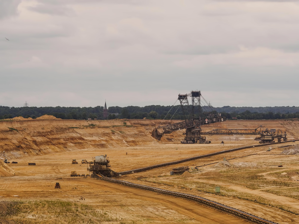 Germany,  Garzweiler II,  Brown coal quarry