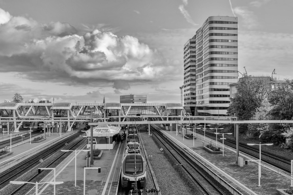 The Netherlands, Arnhem, Railway station