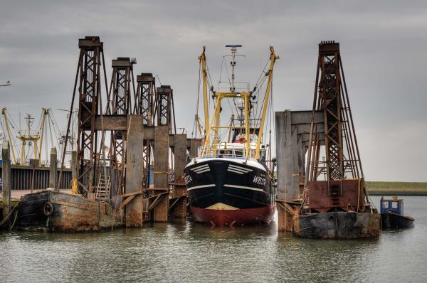 The Netherlands,  Den Oever, Harbor