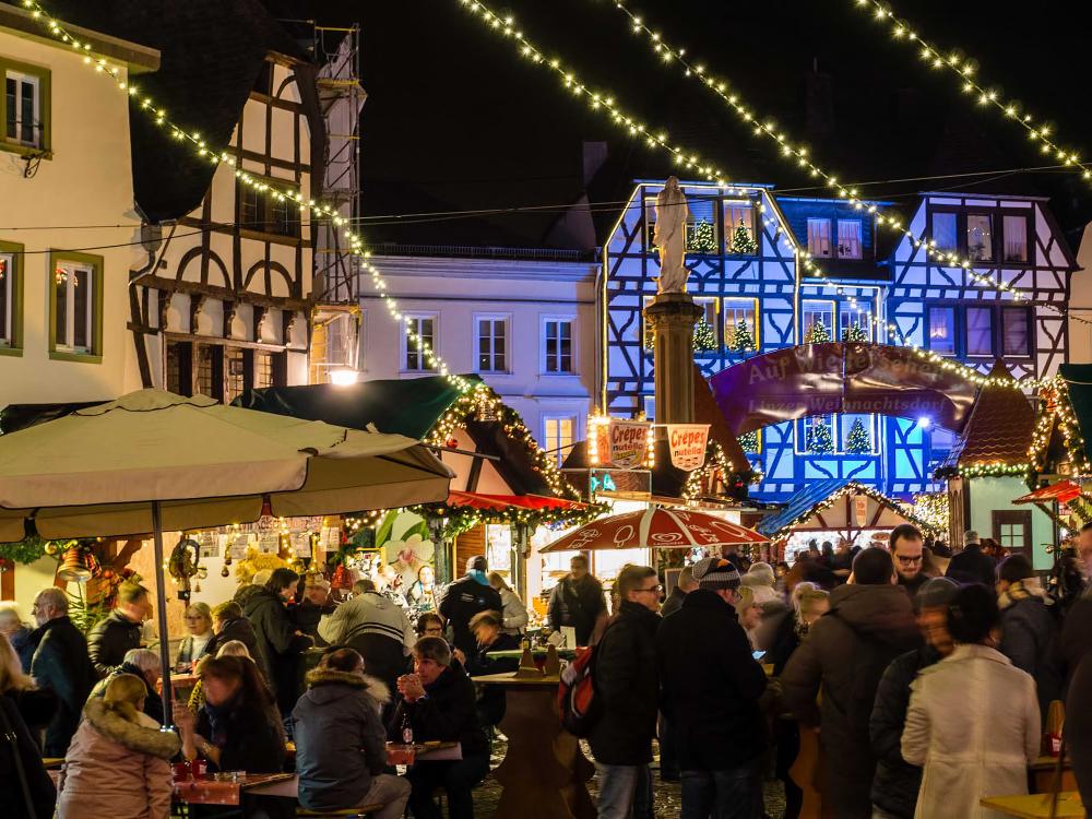 Germany,  Linz am Rhein 3/3, Weihnachtsmarkt
