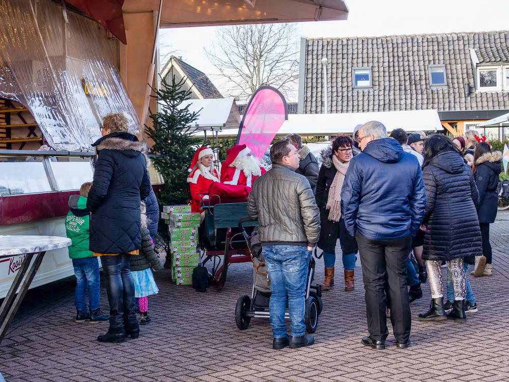 The Netherlands, Langedijk, Visiting Santa Claus