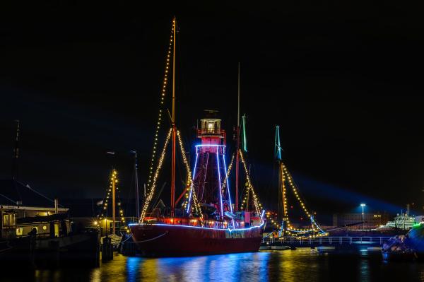 The Netherlands, Den Helder, Lichtschip Texel