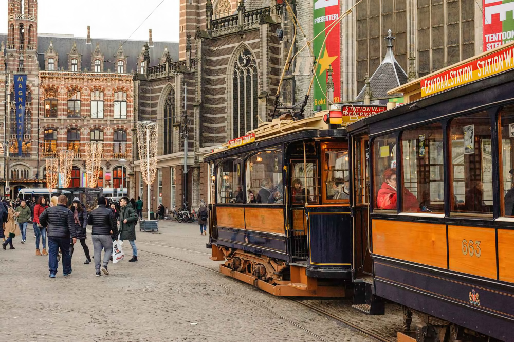 The Netherlands,  Amsterdam, Dam Square